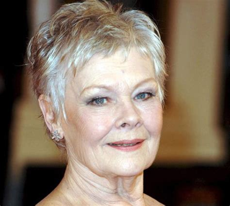 judi dench haircut how to judi dench hair styles pinterest