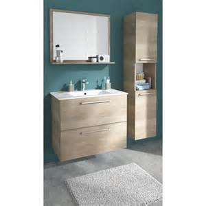 meuble de salle de bains d 233 cor bois naturel 80 cm no 233