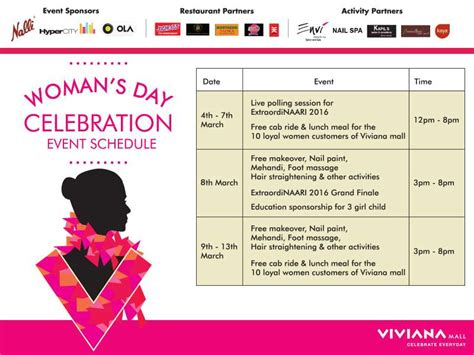 s day celebration s day celebration at viviana mall thane events in