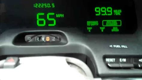 electronic throttle control 2000 ford crown victoria instrument cluster crown victoria 99 9 mpg youtube