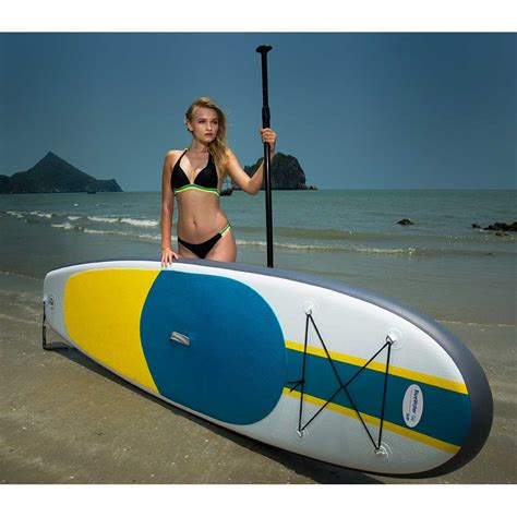 sup boat inflatable stand up paddle board give away contest blue