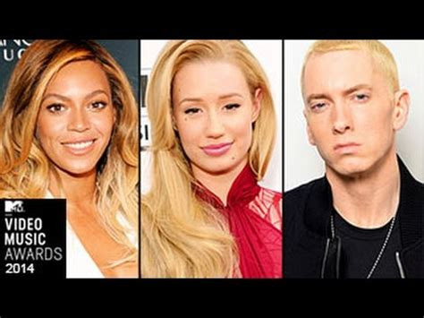 Says Eminem Lead To Attempt by Mtv Vma 2014 Nominations Eminem Katy Perry Beyonce