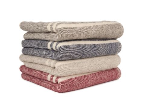 Wool Blankets And Throws by Macausland Wool Blankets The Custom House