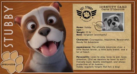 Sgt Stubby Bio Win Sgt Stubby An American Prize Pack Us Ends 3 19 Stubbymovie