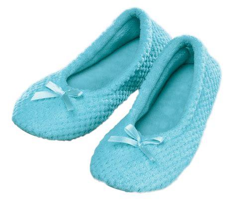 light blue slippers chenille ballet slippers light blue lg ebay