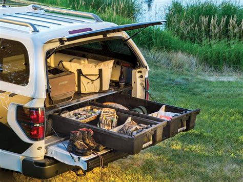 decked truck bed just added decked truck bed organizer for the 2017 super