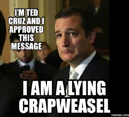 Ted Cruz Memes - contact congress quot video video video quot the ballad of lyin