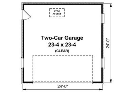 2 car garage floor plans two car garage plans 2 car garage plan 001g 0001 at