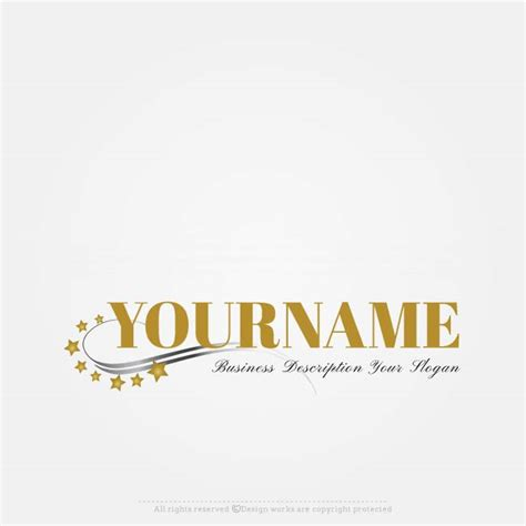 online free logo maker cinema stars logo design