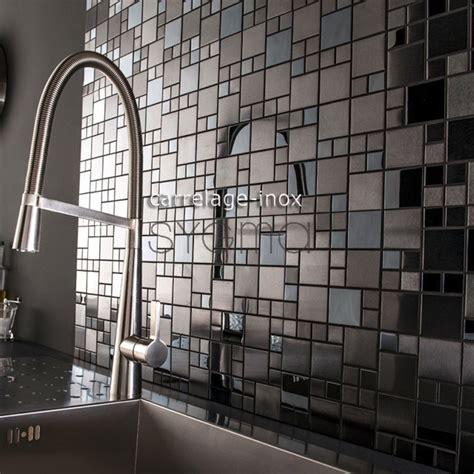 piastrelle cucina mosaico piastrelle mosaico in inox cucina e bagno mi oke sygma