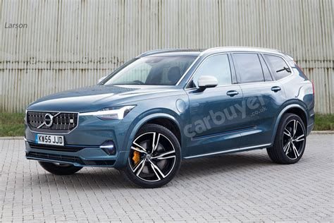 Volvo Xc90 Facelift 2020 Uk by Next Volvo Xc90 Suv To Go All Electric In 2022 Carbuyer