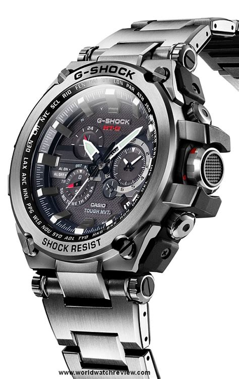 Casio G Shock Metal Twisted (MTG S1000D 1AJF)   World Watch Review