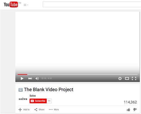 about blank youtube about blank youtube เป ดใจผ สร าง the blank video project