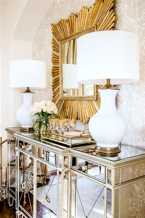 glam transitional dining room reveal randi garrett design