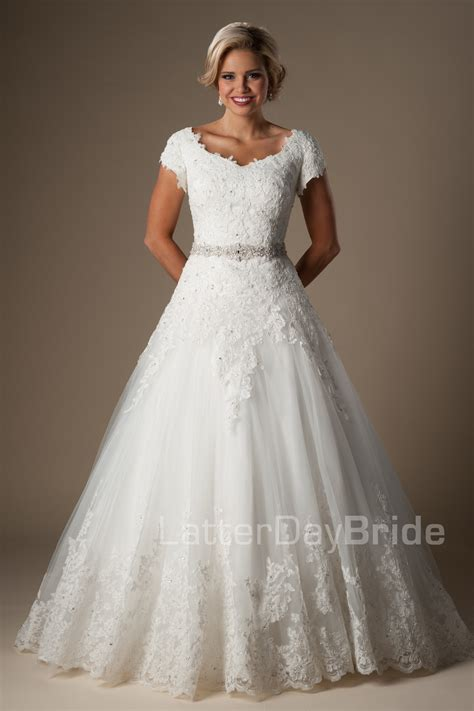 Wedding Dress by Modest Wedding Dresses Billingham