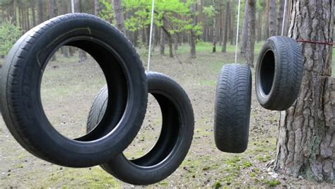 tire rope swing tire swing stock footage video 2020663 shutterstock