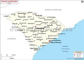 carolina map map of south carolina cities jorgeroblesforcongress