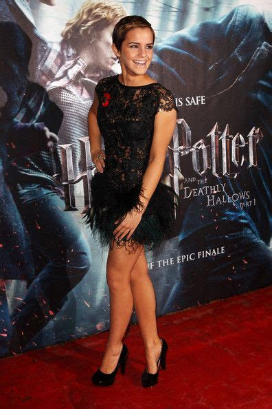 Going To A Harry Potter Premiere Whip Out Some Toe Heels If You Want To Be Like And Co by 72 Best Watson Images On Hairstyles
