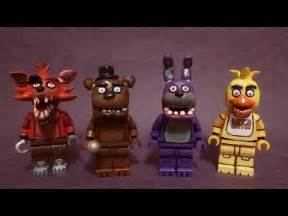 Lego five nights at freddy s minifigures youtube