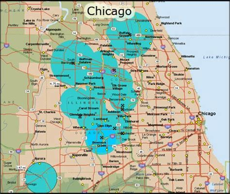 us map with cities chicago chicago topnews
