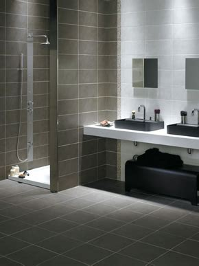 Black Grey And White Bathroom Ideas Ceramic Tile Galleries Gt Color Contrast