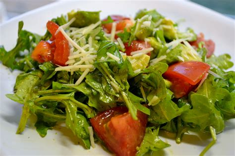 Salad by Avocado Tomato And Arugula Salad With Cilantro Vinaigrette