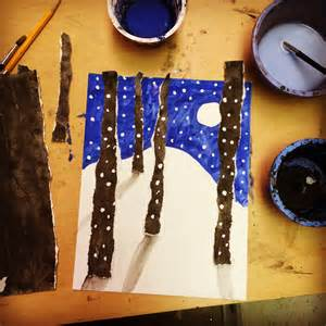 Winter art projects for 4th graders 28 easy winter crafts for kids