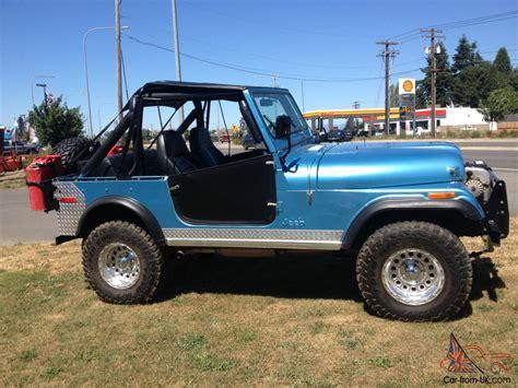 1976 Jeep Cj7 For Sale 1976 Jeep Cj7 Base Sport Utility 2 Door 5 0l