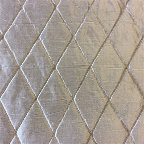 diamond upholstery fabric nl261 platinum diamond stitched quilted 100 silk fabric
