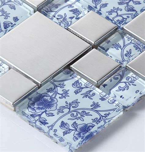 french blue and white ceramic tile backsplash blue and white ceramic tile backsplash kitchen