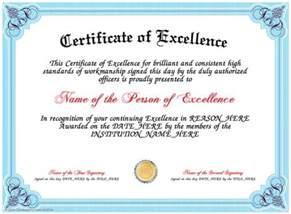 achievement certificates templates free best 25 certificate of achievement template ideas on