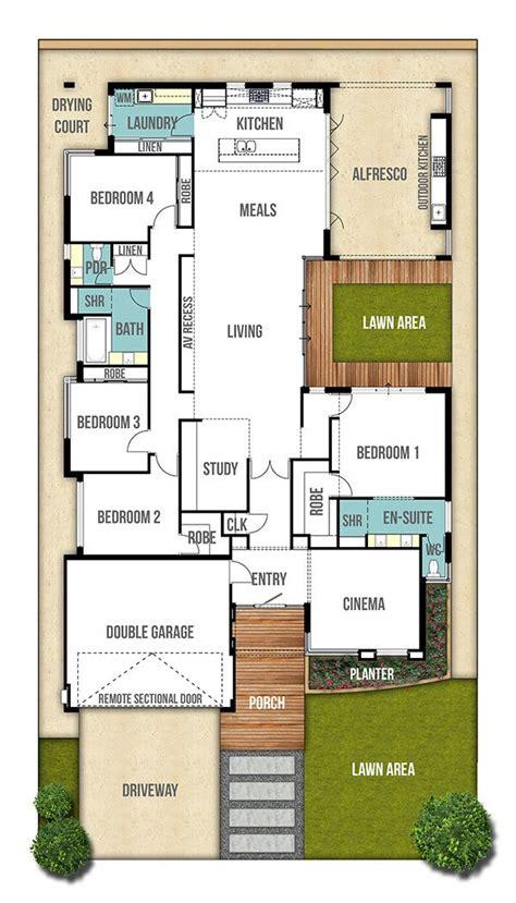 single storey floor plans single storey house design plan the moore 4bed 2bath