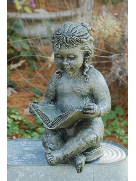 girl reading garden statue garden fountainscom