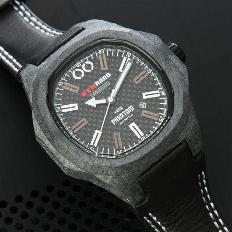 Jam Tangan Phantom Carbon Automatic 49mm phantom carbon automatic white itanano orology