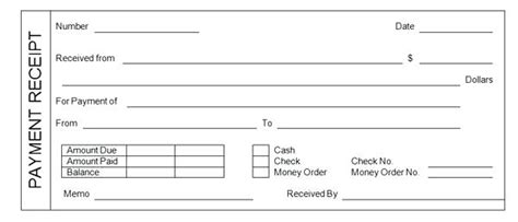 salary receipt template for a nanny restaurants receipts template virtuart me
