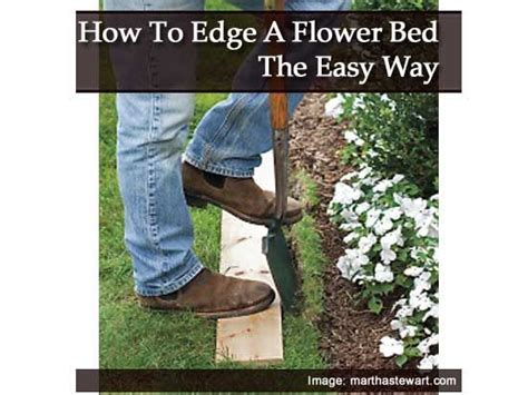 how to edge flower beds how to edge a flower bed the easy way landscaping