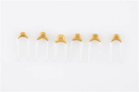 10 nanofarad ceramic capacitor capacitor kit identification guide learn sparkfun