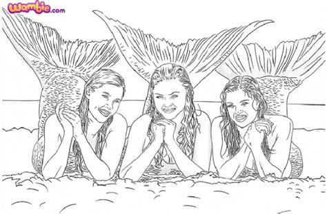 coloring pages mako mermaids free coloring pages of mako mermaids