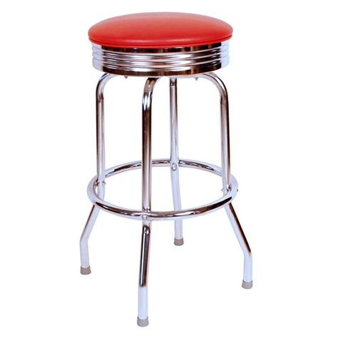 24 inch backless swivel counter stools richardson seating floridian 24 in backless swivel
