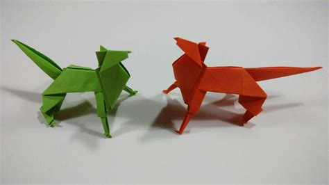 todo manualidades animales de origami como hacer un perro de papel sencillo youtube