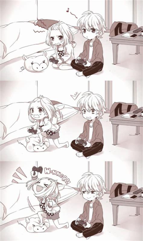 cute anime couple on tumblr