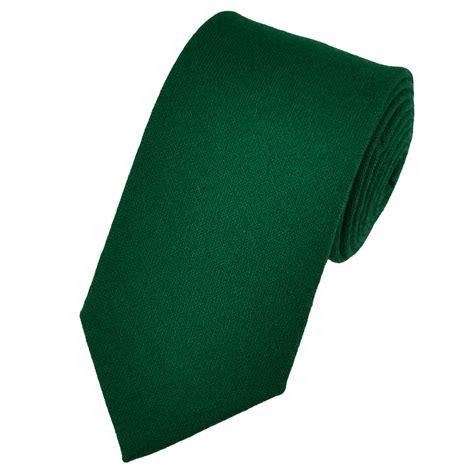 buck plain green lambswool tie from ties planet uk