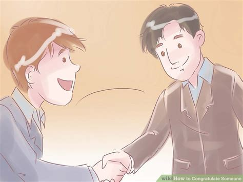 3 ways to congratulate someone wikihow
