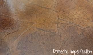 Faux Granite Paint Technique For Laminate Countertops - hometalk brown paper bag flooring how to
