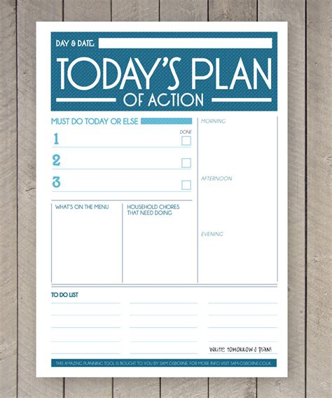 etsy business plan template printable day planner organiser agenda