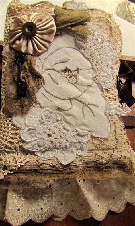 shabby chic vintage cut lace journal all kinds of altered pinterest shabby chic chic and