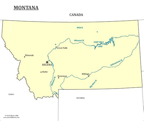 montana cities map montana state map map of montana and information about