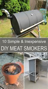 10 simple and inexpensive diy meat smokers