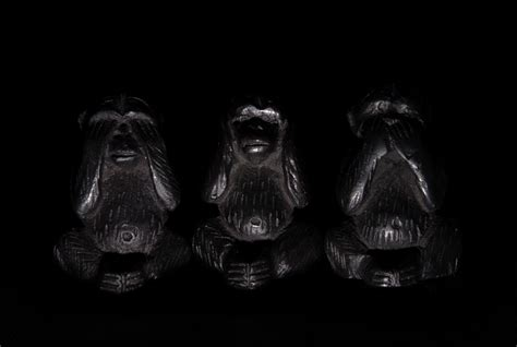 three wise monkeys made in china
