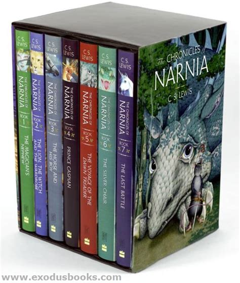 unveiled book one of the chronicles books chronicles of narnia deluxe hardcover set exodus books